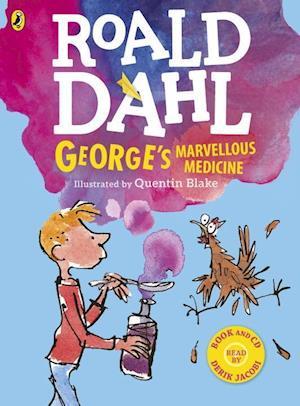 Bog, ukendt format George's Marvellous Medicine (Colour Book and CD) af Roald Dahl
