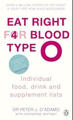 Eat Right for Blood Type O (Eat Right For Blood Type)