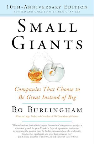 Bog paperback Small Giants af Bo Burlingham