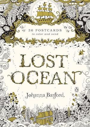 Bog, ukendt format Lost Ocean Postcards af Johanna Basford