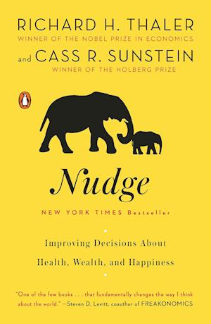 Bog, paperback Nudge af Cass R Sunstein, Richard H Thaler