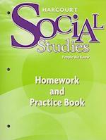 Harcourt Social Studies People We Know Homework and Practice Book, Grade 2 af Hsp