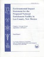 Environmental Impact Statement for the Proposed National Enrichment Facility in Lea County, New Mexico