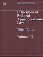 Principles of Federal Appropriations Law, Volume III (Principles of Federal Appropriations Law, nr. 3)
