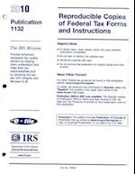 Reproducible Copies of Federal Tax Forms and Instructions, 2010