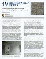 Historic Decorative Metal Ceilings and Walls