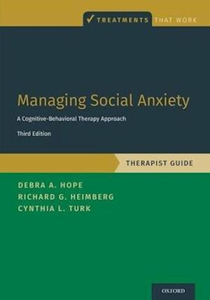Managing Social Anxiety, Therapist Guide