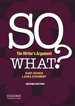 Bog, paperback So What? af Kurt Schick