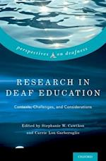 Research in Deaf Education (Perspectives on Deafness)