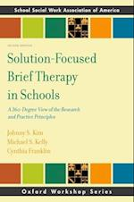 Solution-Focused Brief Therapy in Schools (SSWAA Workshop Series)