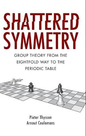 Bog, hardback Shattered Symmetry af Arnout Ceulemans