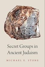 Secret Groups in Ancient Judaism