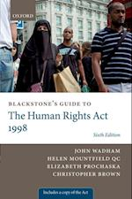 Blackstone's Guide to the Human Rights Act 1998 (Blackstone's Guides)