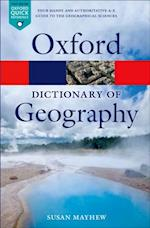 Dictionary of Geography (Oxford Paperback Reference)