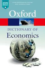 Dictionary  of Economics af John Black, Nigar Hashimzade, Gareth Myles