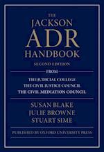 Jackson ADR Handbook af Julie Browne, Stuart Sime, Susan Blake