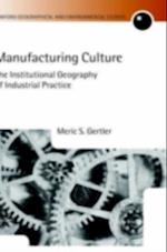 Manufacturing Culture: The Institutional Geography of Industrial Practice (Oxford Geographical and Environmental Studies Series)