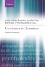 Gradience in Grammar: Generative Perspectives