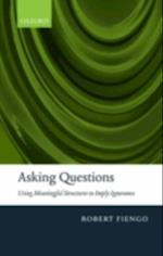 Asking Questions: Using meaningful structures to imply ignorance