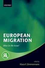 European Migration: What Do We Know?