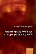 Reforming Early Retirement in Europe, Japan and the USA
