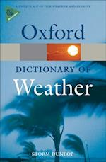 Dictionary of Weather (Oxford Quick Reference)