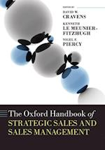 Oxford Handbook of Strategic Sales and Sales Management (Oxford Handbooks in Business and Management)