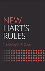 New Harts Rules: The Oxford Style Guide