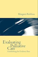 Evaluating Palliative Care (Oxford Medical Publications)