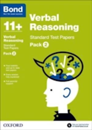 Bond 11+: Verbal Reasoning: Standard Test Papers