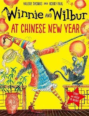 Winnie and Wilbur at Chinese New Year pb/cd