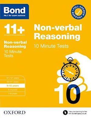 Bond 11+: Bond 11+ 10 Minute Tests Non-verbal Reasoning 9-10 years