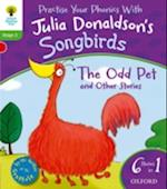 Oxford Reading Tree Songbirds: Level 2: The Odd Pet and Other Stories (Oxford Reading Tree Songbirds)