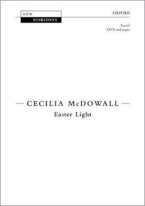 Bog, løsblade Easter Light af Cecilia McDowall