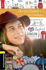 Oxford Bookworms Library: Level 1:: Maria's Summer in London (Oxford Bookworms Library)