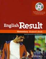 English Result: Elementary: Student's Book with DVD Pack