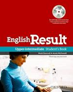 English Result: Upper-Intermediate: Student's Book with DVD Pack