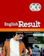 English Result Elementary Multipack A af Joe McKenna, Mark Hancock, Annie McDonald