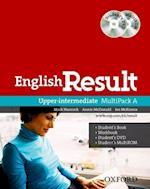 English Result: Upper Intermediate: Multipack A