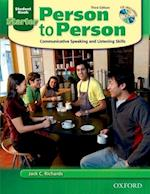 Person to Person, Third Edition Starter: Student Book (with Student Audio CD) (Person to Person Third Edition Starter)