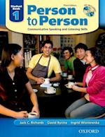 Person to Person, Third Edition Level 1: Student Book (with Student Audio CD) (Person to Person Third Edition Level 1)