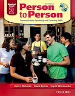 Person to Person, Third Edition Level 2: Student Book (with Student Audio CD) (Person to Person Third Edition Level 2)