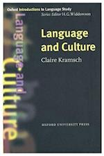 Language and Culture (Oxford Introductions to Language Study)