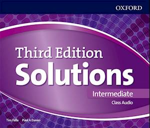 Lydbog, CD Solutions: Intermediate: Class Audio CDs