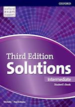 Solutions: Intermediate: Students Book & Online Practice Pack (Solutions)