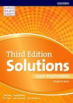 Solutions 3e Upper-intermediate Students Book & Online Practice Pack