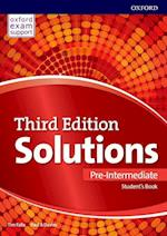 Solutions 3e Pre-intermediate Students Book &  Online Practice Pack