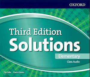 Lydbog, CD Solutions: Elementary: Class Audio CDs (Exclude Poland)