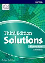 Solutions: Elementary: Student's Book and Online Practice Pack (Solutions)