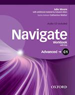Navigate: C1 Advanced: Workbook with CD (with key)